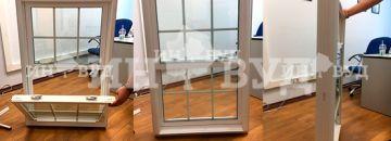 Размер окна в котельной и площадь остекления