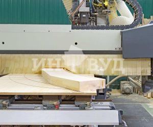 Фото процесса производства оконной системы из дерева