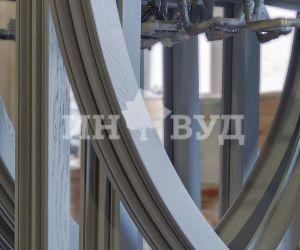 Фото - деревянное окно, производитель Инвуд