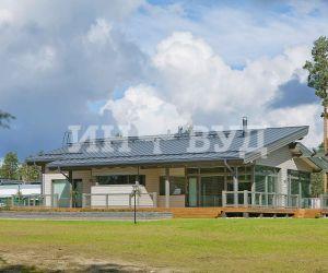 Фото остекления загородного коттеджа оконными системами Инвуд