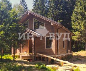 Остекление деревянного дома - большие окна