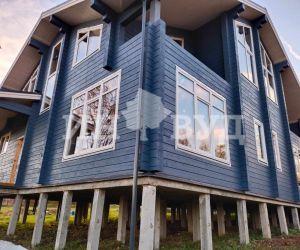 Остекление большого дома окнами Инвуд