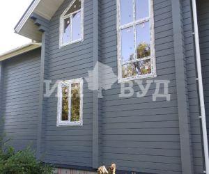 Монтаж белых окон Инвуд в частном доме