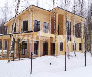 Пример монтажа окон в деревянном доме