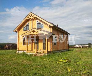 Остекление деревянными окнами от Инвуд загородного дома в Московской области