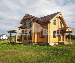 Мы закончили остекление деревянного дома в Московской области окнами от компании Инвуд
