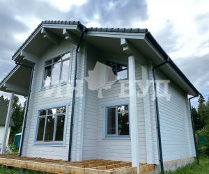 Остекление деревянного дома окнами от Инвуд