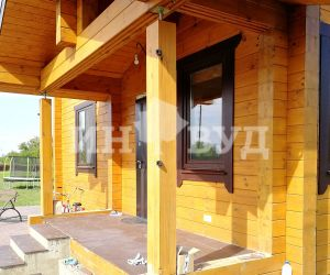 окна из дерева для загородного дома, дачи