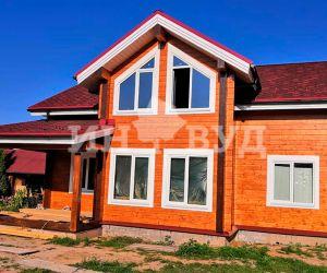 Остекление деревянного дома за городом в поселке от Инвуд