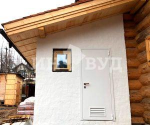 Остекление дома в подмосковье деревянными окнами со стеклопакетами