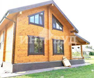 Остекление деревянного дома в подмосковье от производителя