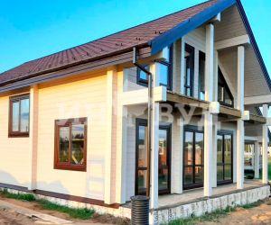 Остекление деревянными окнами дома в Московской области профессионалами из Инвуд
