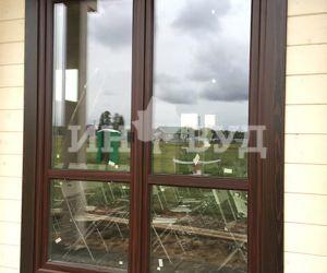 Окна на заказ из дерева сосны, дуба или лиственницы - премиум класса от оконной компании Инвуд