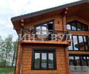 Деревянные окна премиум класса Инвуд для дома в Подмосковье