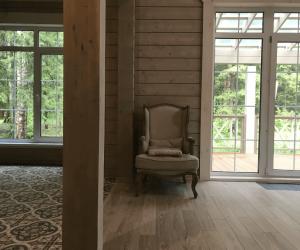 Современные деревянные окна фото