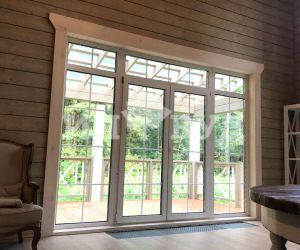 Фото отделки окон в деревянном доме