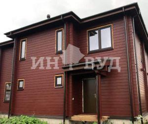 Остекление деревянного загородного дома