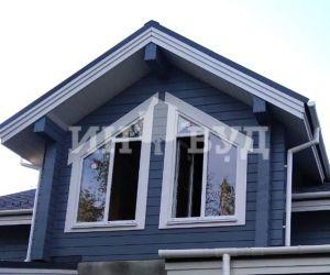 Монтаж окон в загородном доме в Подмосковье от оконной компании Инвуд (Inwood)