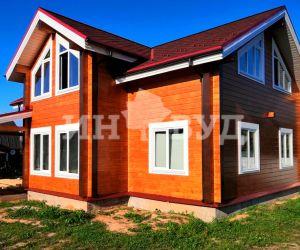 Наша компания застеклила дом в поселке
