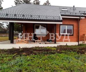 Установили окна в деревянном доме Московской области