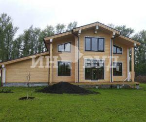 Остекление деревянного дома из клееного бруса в МО