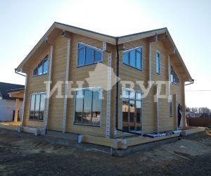 Дом с панорамным остеклением от Инвуд