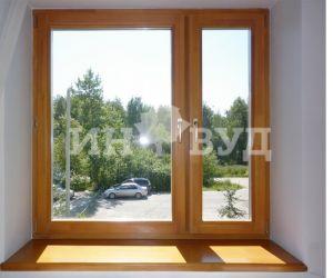 Деревянные окна в интерьере квартиры фото