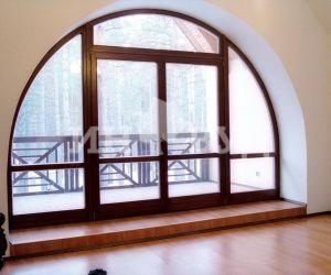 Оформление окон деревянного дома фото