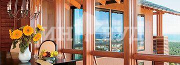 Как надежно закрепить большие створки окна?