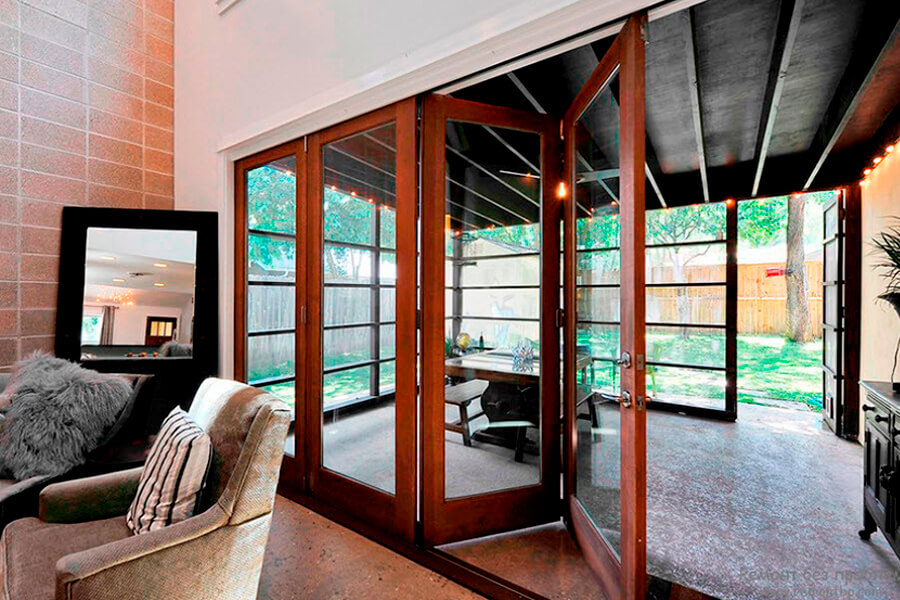 Панорамные окна из дерева, деревянные от Инвуд