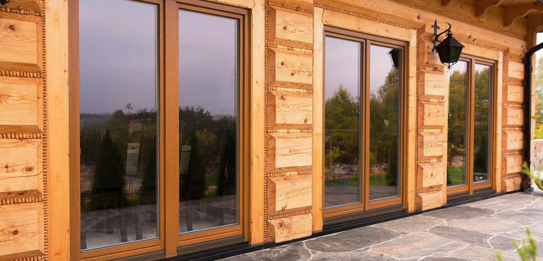Почему все так любят деревянные окна из дуба или сосны
