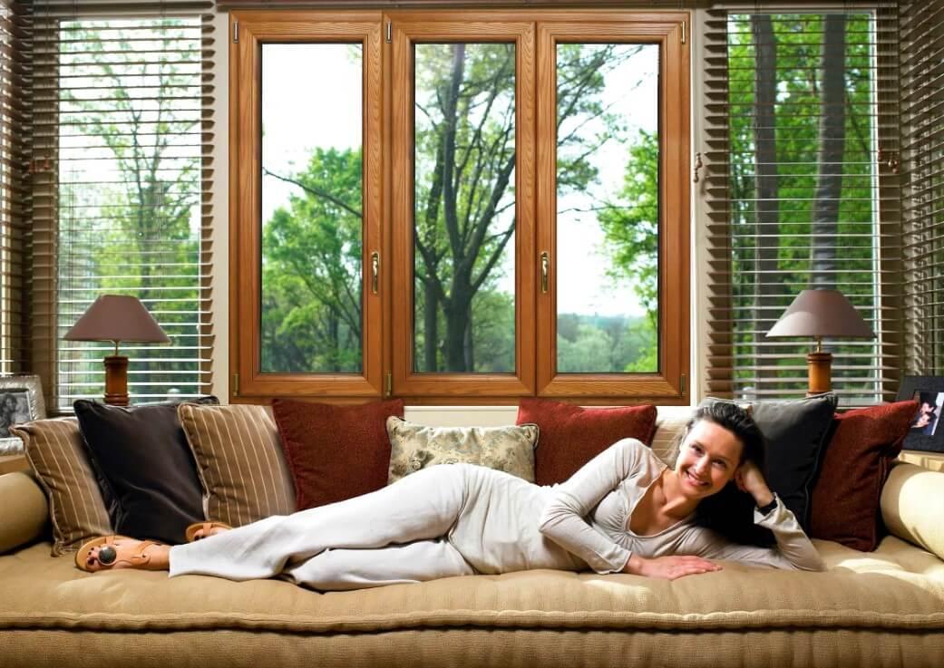 Почему все любят окна сделанные из настоящего дерева?