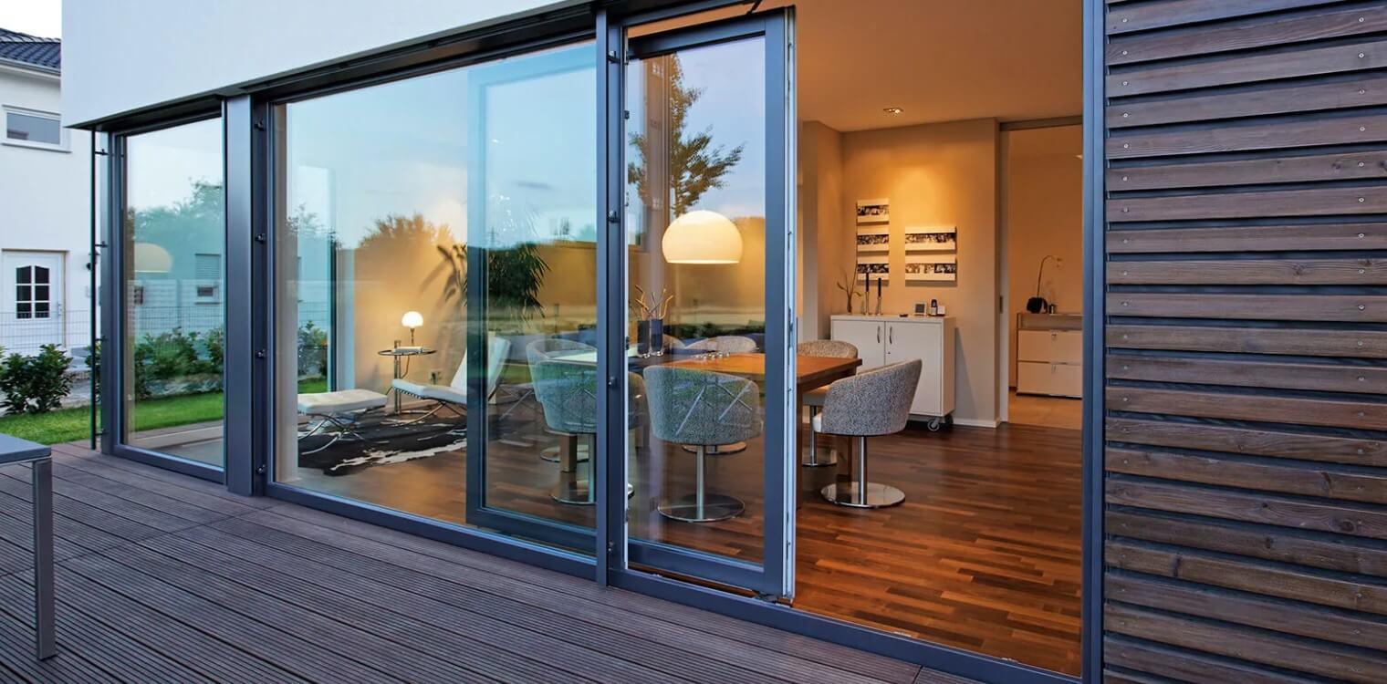 Конструкция - раздвижные качественные окна на лоджию или веранду