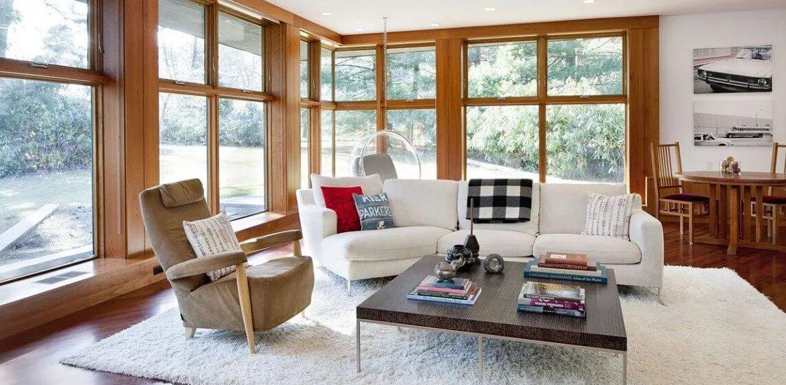 Большие окна в доме или квартире - фурнитура от производителя Roto