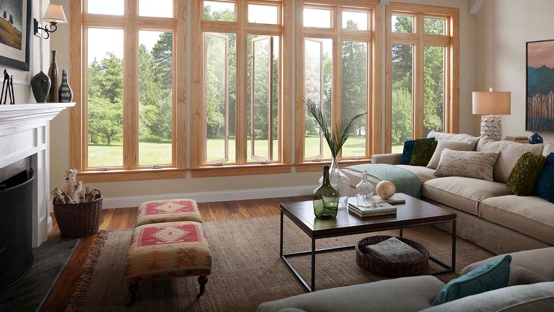 Тенденция на деревянные окна Инвуд верный выбор здравомыслящего человека