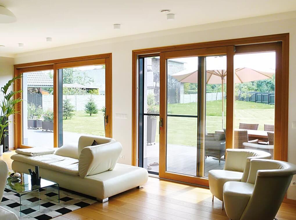 Евроокна из дерева в доме - современное решение для людей которые ценят качество