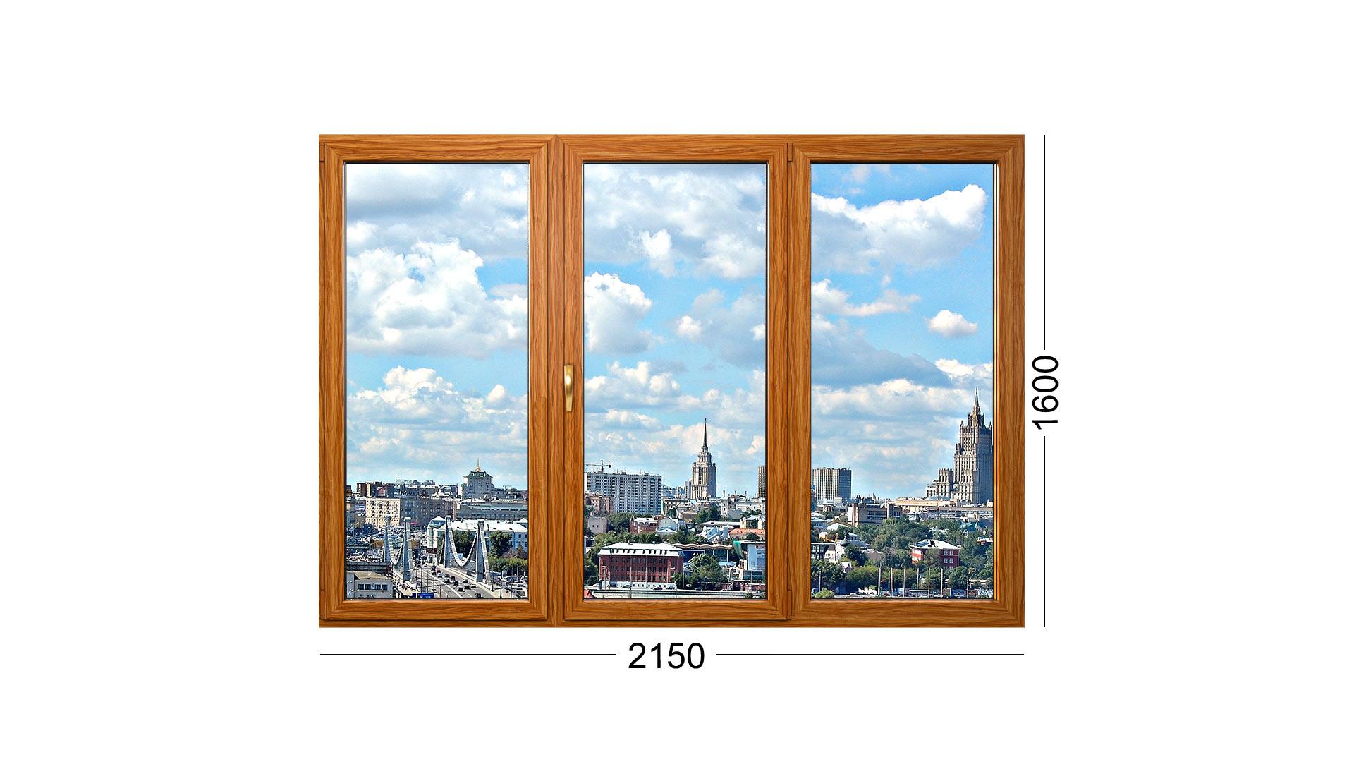 Конструкция деревянного окна для панельного дома серии 1605 9 или 1605/9