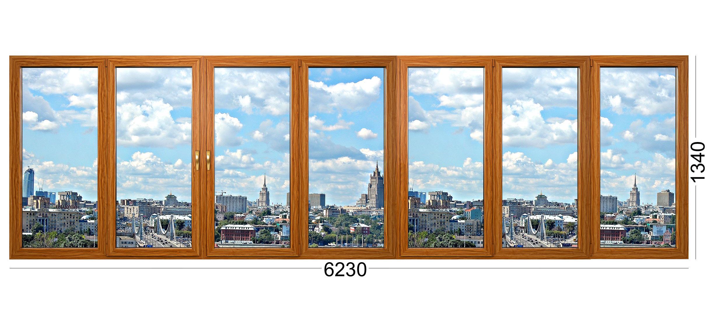 Лоджия деревянная для дома серии И-522А в москве
