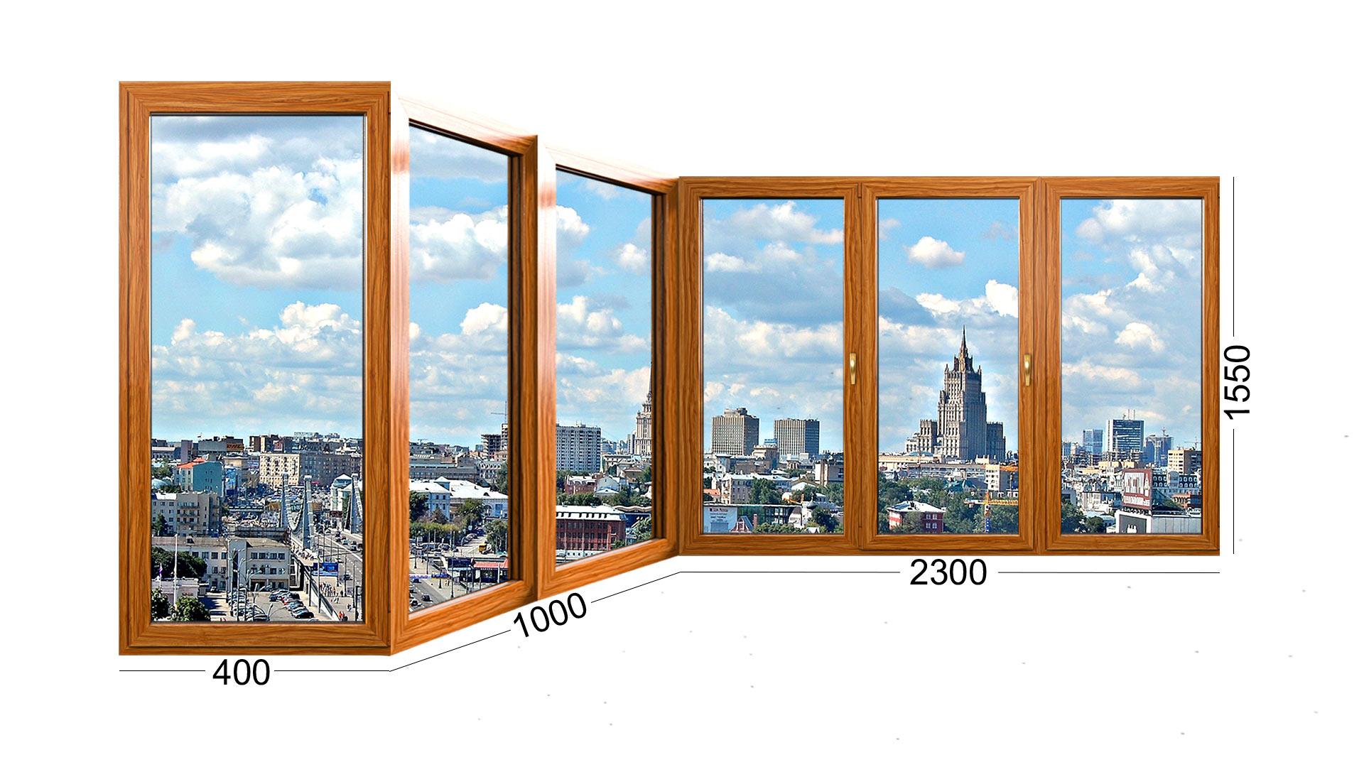 Балкон типа каблук в доме серии П 44Т, остекление деревянными окнами. Конструкция оконного проема и рамы