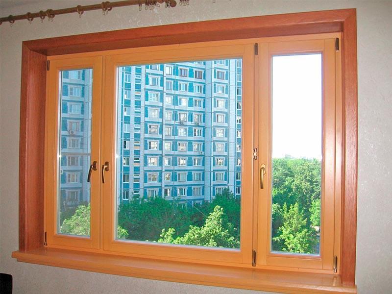 Фото остекления балкона в доме серии П3.