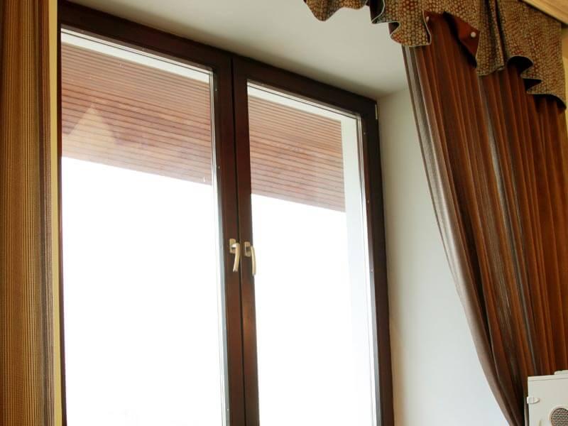 Фотография. Застеклить окна в доме серии П3.