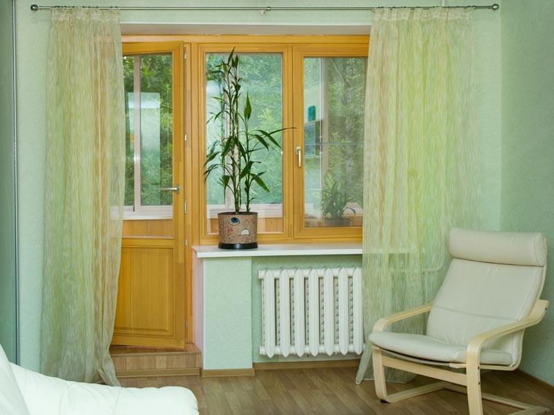 Как застеклить окна на лоджии или балконе в доме серии П3