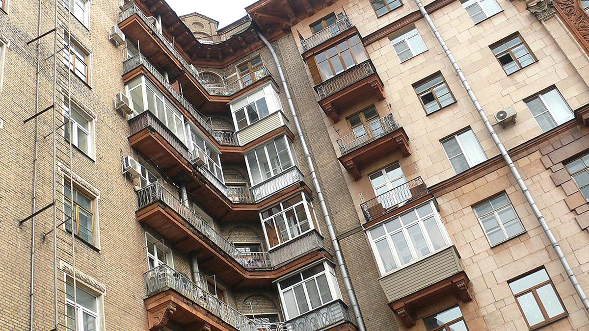 Фото дома серии Сталинка. Сталинские дома в Москве.
