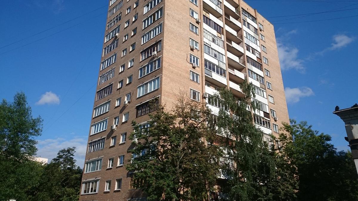 Фото жилого дома серии башня Вулыха. Высотное здание.