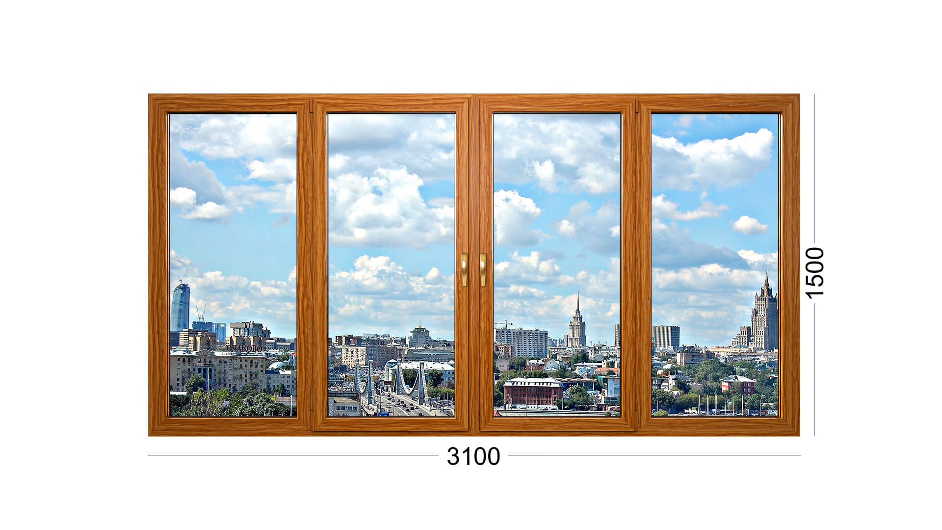 Фотография конструкции окна деревянного дома серии П 43 в Москве. Дом панельный, старый. Замена окон