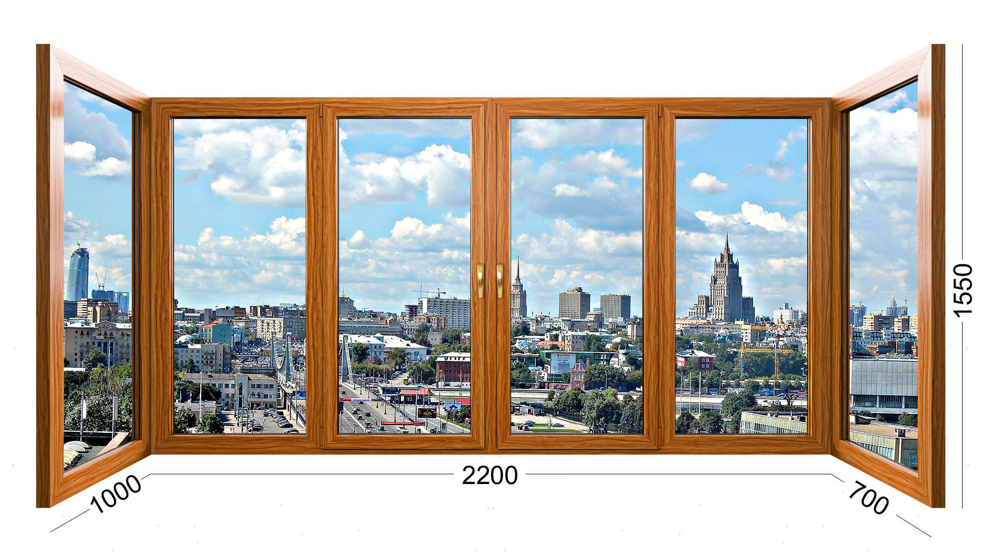 П образный балкон в доме серии П3 из дерева, деревянные окна, конструкция, фото