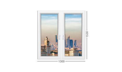 застеклить окно в доме серии 1-511к профиль пвх белый Рехау инвуд