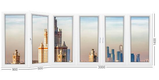 Балкон типа каблук в доме серии И-155 башни. Фото конструкции и описание