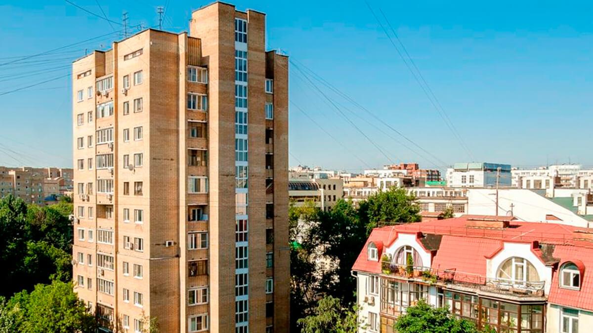 Серия дома Башня Тишинская фото балкона лоджии, застеклить окно