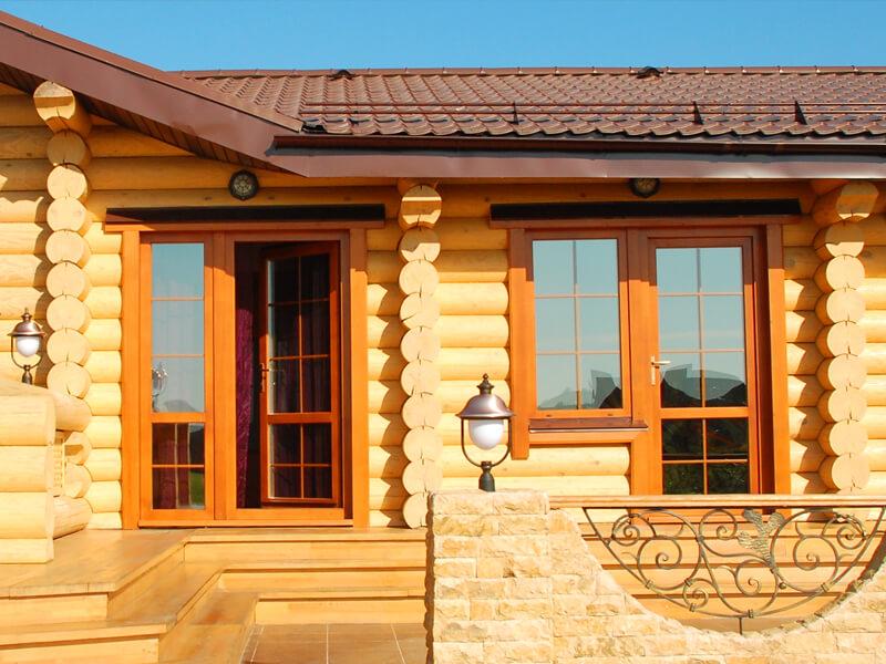 Деревянные окна для дачи недорого из сосны